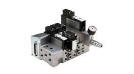 Ilha de Válvulas Mini ISO Plug-In VS18